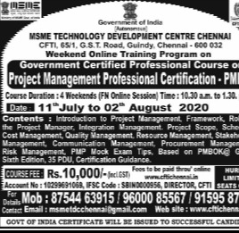 Project Management Certification (PMP)
