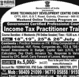 Income Tax Practitioner Training